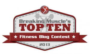 The 2013 Top 10 Fitness Blog Contest